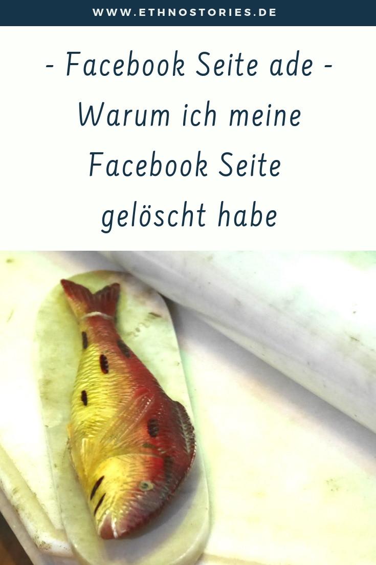 Stilleben mit Fisch im Bhuj Palace, Kutch, Gujarat, Indien  - Beitragsfoto: Facebook Seite löschen - Warum ich meine Facebook Seite gelöscht habe