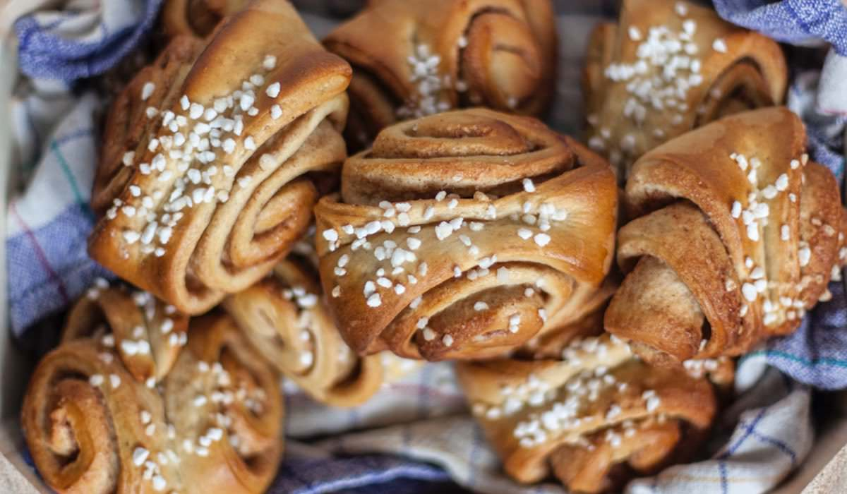 Finnische Ohrfeigen, Korvapuusti das beliebte Zimtgebäck