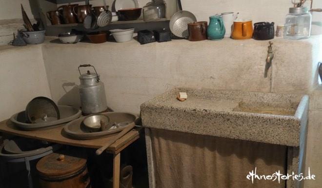 Küche im Freilichtmuseum Neuhausen