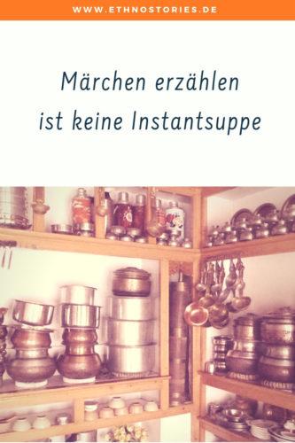 Märchen erzählen ist keine Instantsuppe - mache Erzählkunst und kein Märchen-Fastfood - weiterlesen: https://ethnostories.de/maerchen-erzaehlen-ist-keine-instantsuppe/#märchen #erzählen #märchenerzähler #künstlerblog #ethnostories #uschierlewein