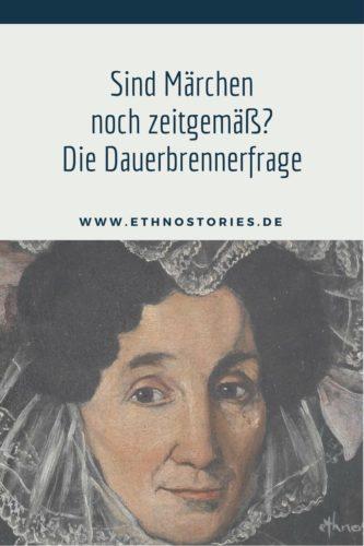 Dame mit Spitzenhäubchen - Artikelfoto vom Blogbeitrag: Sind Märchen noch zeitgemäß? Die Dauerbrennerfrage