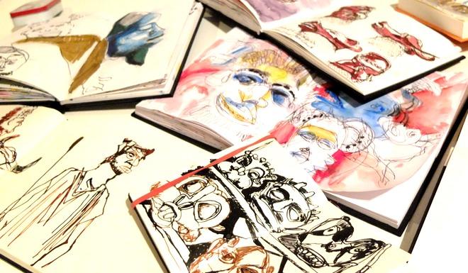 Urban Sketching: Skizzenbücher