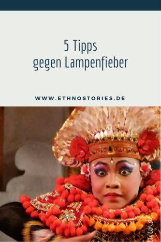 Baristänzer aus Bali - Artikelfoto: 5 Tipps gegen Lampenfieber