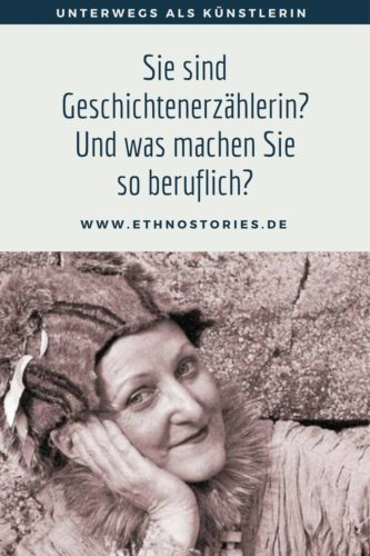 Geschichtenspielerin Uschi Erlewein, mobiles Erzähltheater aus Heilbronn - Artikelfoto: Sie sind Geschichtenerzählerin? Und was machen Sie so beruflich?