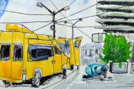 Skizze der Urban Sketchers Stuttgart