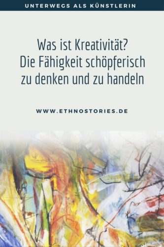 Torso, Mischtechnik, Malerei: Uschi Erlewein - Artikelfoto: Was ist Kreativität? Die Fähigkeit schöpferisch zu denken und zu handeln